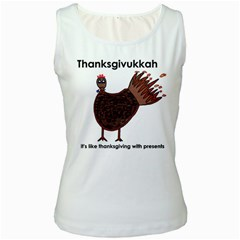 Turkey Womens  Tank Top (White)