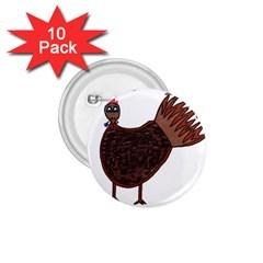 Turkey 1.75  Button (10 pack)