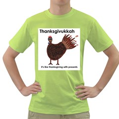 Turkey Mens  T Shirt (green)