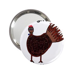 Turkey Handbag Mirror (2.25 )