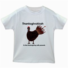 Turkey Kids' T-shirt (White)