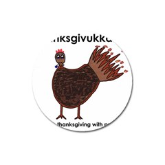 Turkey Magnet 3  (round)
