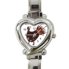 Turkey Heart Italian Charm Watch