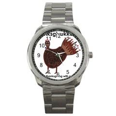 Turkey Sport Metal Watch