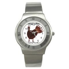 Turkey Stainless Steel Watch (Unisex)