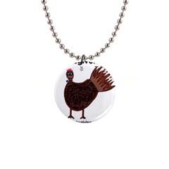 Turkey Button Necklace