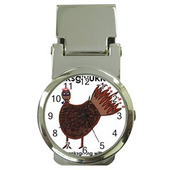Turkey Money Clip with Watch
