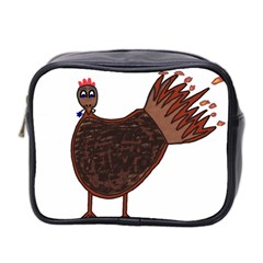 Turkey Mini Travel Toiletry Bag (two Sides)