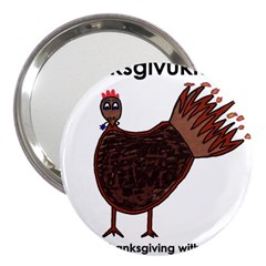 Turkey 3  Handbag Mirror