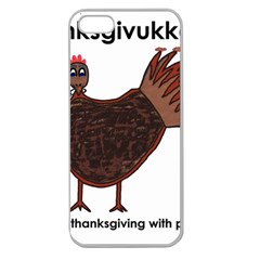 Turkey Apple Seamless Iphone 5 Case (clear)