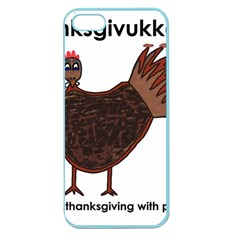 Turkey Apple Seamless iPhone 5 Case (Color)