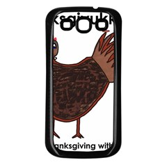 Turkey Samsung Galaxy S3 Back Case (black)