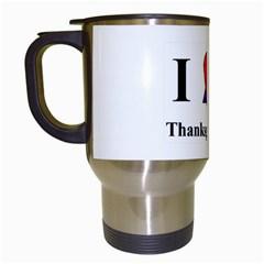 Heartstar Travel Mug (White)