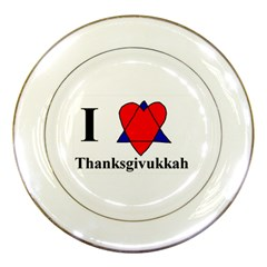 Heartstar Porcelain Display Plate
