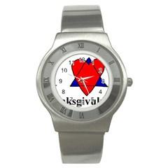 Heartstar Stainless Steel Watch (Unisex)