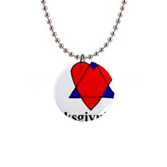 Heartstar Button Necklace
