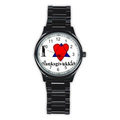 Heartstar Sport Metal Watch (Black)