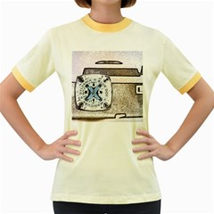 Kodak (7)d Womens  Ringer T-shirt (Colored)