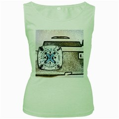 Kodak (7)d Womens  Tank Top (Green)