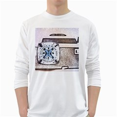 Kodak (7)d Mens' Long Sleeve T-shirt (White)