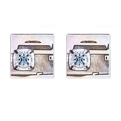 Kodak (7)d Cufflinks (Square)