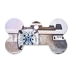 Kodak (7)d Dog Tag Bone (One Sided)