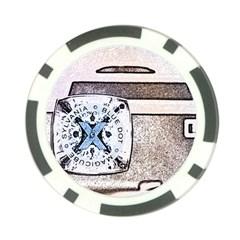 Kodak (7)d Poker Chip 10 Pack