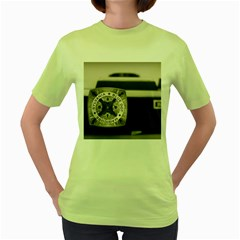 Kodak (7)s Womens  T-shirt (Green)