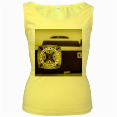 Kodak (7)s Womens  Tank Top (Yellow)
