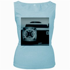 Kodak (7)s Womens  Tank Top (baby Blue)