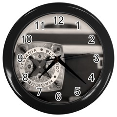 Kodak (7)s Wall Clock (black)