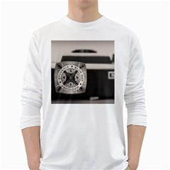 Kodak (7)s Mens' Long Sleeve T-shirt (White)