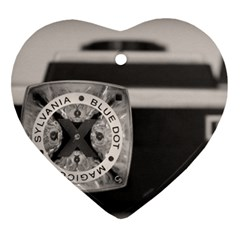 Kodak (7)s Heart Ornament (Two Sides)