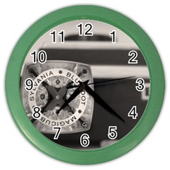 Kodak (7)s Wall Clock (color)