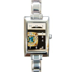 Kodak (7)c Rectangular Italian Charm Watch