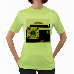 Kodak (7)c Womens  T-shirt (Green)