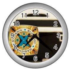 Kodak (7)c Wall Clock (Silver)