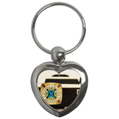 Kodak (7)c Key Chain (Heart)