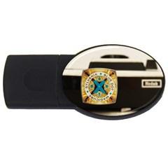 Kodak (7)c 1GB USB Flash Drive (Oval)