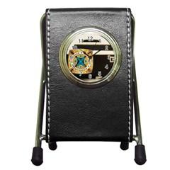 Kodak (7)c Stationery Holder Clock