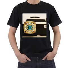 Kodak (7)c Mens' Two Sided T-shirt (Black)