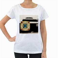 Kodak (7)c Womens' Maternity T-shirt (White)