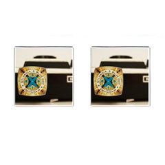 Kodak (7)c Cufflinks (Square)