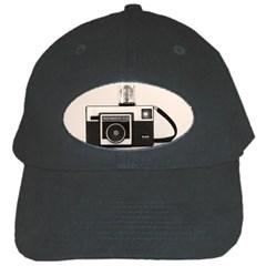 Kodak (3)s Black Baseball Cap