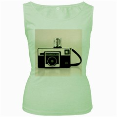 Kodak (3)s Womens  Tank Top (Green)