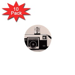 Kodak (3)s 1  Mini Button (10 Pack)