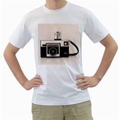 Kodak (3)s Mens  T-shirt (White)