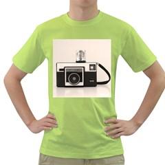 Kodak (3)s Mens  T-shirt (Green)