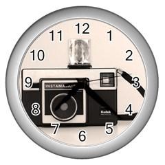 Kodak (3)s Wall Clock (Silver)