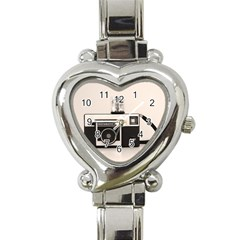 Kodak (3)s Heart Italian Charm Watch